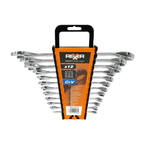 Комплект звездогаечни ключове REXXER RA-05-192 12 бр. 6 / 22