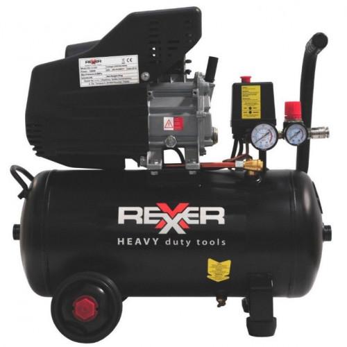 Маслен компресор Rexxer RH-13-503 8 bar / 1,5 hp / 24 l