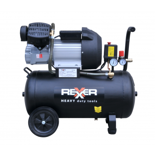 Маслен компресор с две глави REXXER RH-13-508 8BAR / 3HP / 50Л