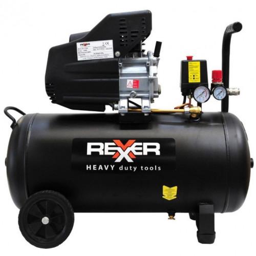 Маслен компресор Rexxer RH-13-505 8 bar / 1,5 hp / 50 l