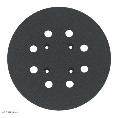 Велкро плоча кръгла 150мм DWT Q-066