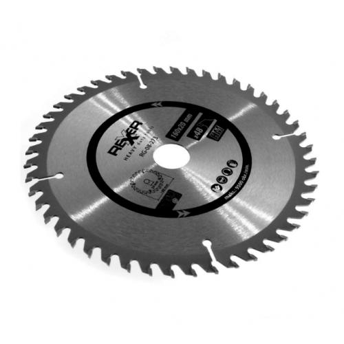 Циркулярен диск за дърво HM материал REXXER RG-08-273 - 160 / 20 / 48 зъба