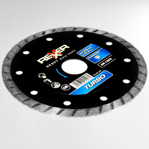 Диамантен диск REXXER TURBO (универсален) 125 мм RG-09-240