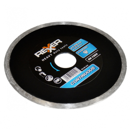 Диамантен диск REXXER за водно рязане 125 мм RG-09-244