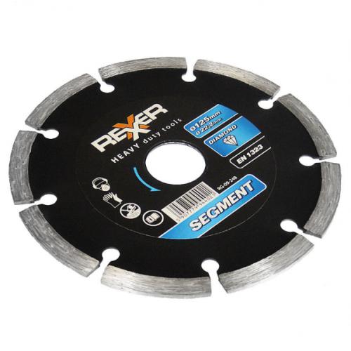 Диамантен диск REXXER SEGMENT (универсален) 125 мм RG-09-248
