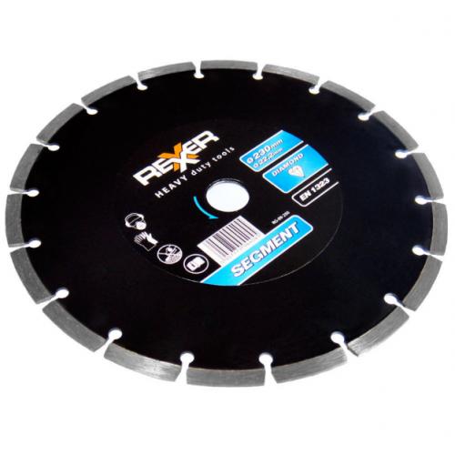 Диамантен диск REXXER SEGMENT (универсален) 230 мм RG-09-250