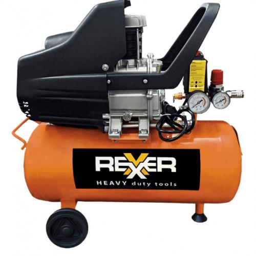 Маслен компресор REXXER RH-13-502 8bar / 1.5HP / 24л
