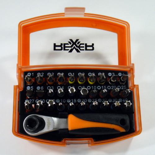 Комплект битове REXXER RA-04-498 - 33 части