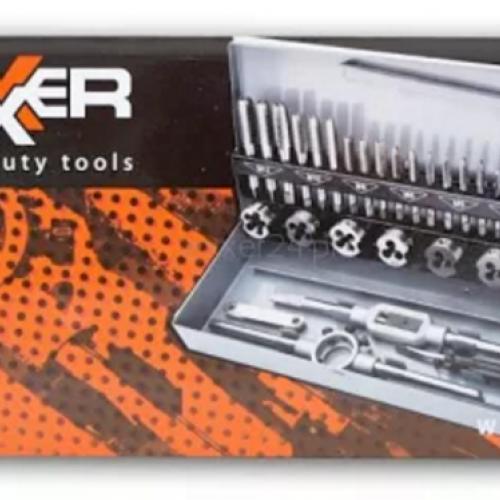 Комплект метчици и плашки REXXER RC-07-036 - 32 части